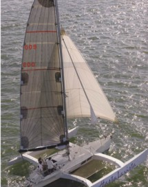 Racing Trimaran Mainsail