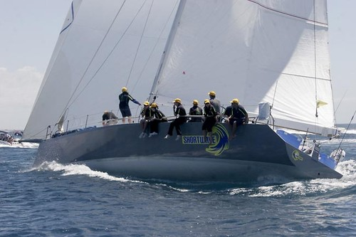 Start of Melbourne to Hobart Using New Offshore Spectra Mainsail.
