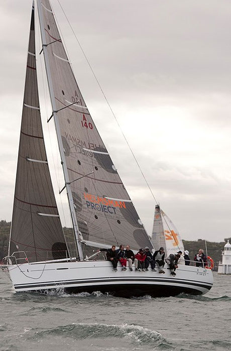 Ron Foster and Phil Damp's Beneteau 40 First CR using ISS Carbon Racing Sails