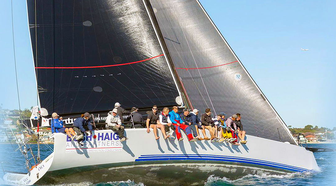 Results Bush Paul Group Ian Short Sails 2018 2