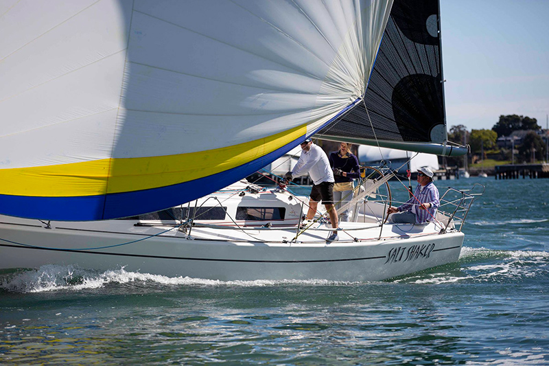 Saltshaker Ian Short Sails Results 2018